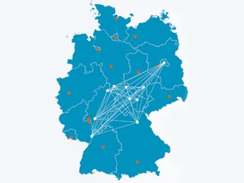 Karte Netzwerk