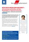 DGB-Info: Neue Regelungen zur Kurzarbeit